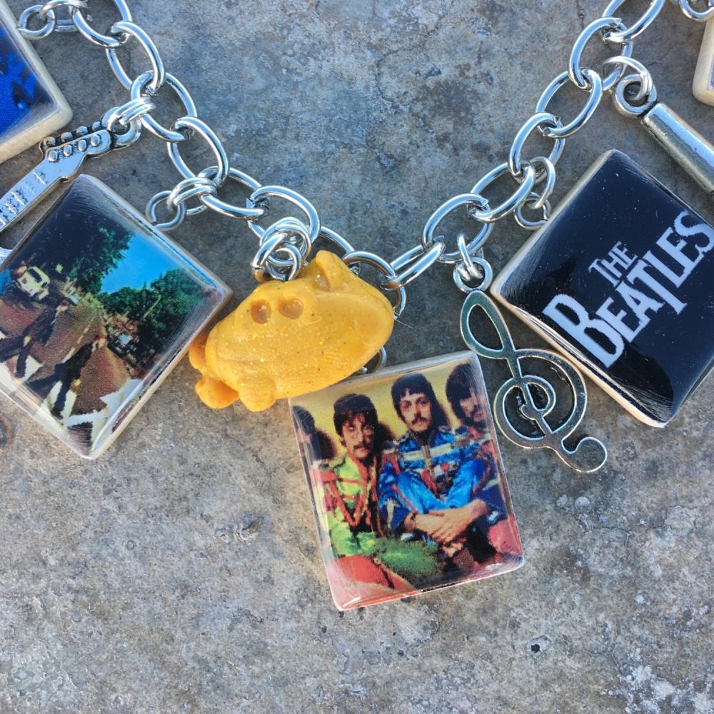 Beatles Charm Bracelet: The Beatles Charm Bracelet