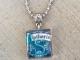 Slytherin House Crest Harry Potter Scrabble Tile Necklace